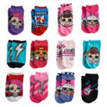 Girls 4-6x L.O.L. Surprise! 12-pack Days of Socks No-Show Socks
