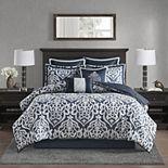 Madison Park Dillon 8-Piece Jacquard Comforter Set
