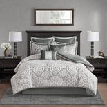 Madison Park Dillon 8 Piece Jacquard Comforter Set