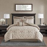 Madison Park Dillon 8 Piece Jacquard Comforter Set