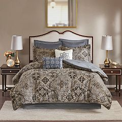 Madison Park Marcel 8-piece Jacquard Comforter Set