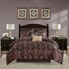 Madison Park Thane 8-piece Jacquard Comforter Set