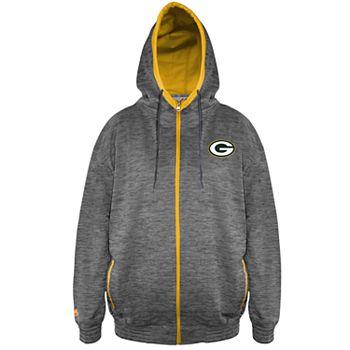 Big   Tall Green Bay Packers Yardage Hoodie 94a28b2d2