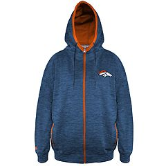 Big & Tall Denver Broncos Yardage Hoodie