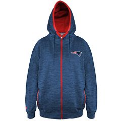 Big & Tall New England Patriots Yardage Hoodie