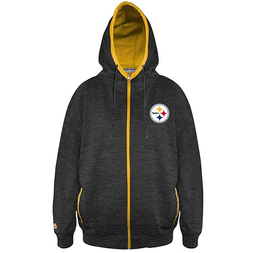 the latest 6ce2a d1cfb Big & Tall Pittsburgh Steelers Yardage Hoodie