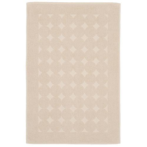 Linum Home Textiles Turkish Cotton Sinemis Circle Design Bath Mat