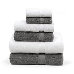 Linum Home Textiles 6-piece Turkish Cotton Sinemis Terry Bath Towel Set