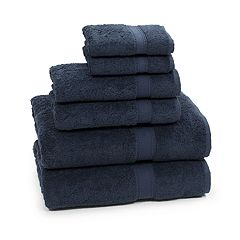 Linum Home Textiles 6-piece Turkish Cotton Sinemis Terry Bath Towel Set