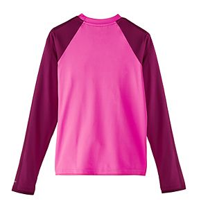 Girls 6-20 Nike Long Sleeve Hydroguard Rash Guard