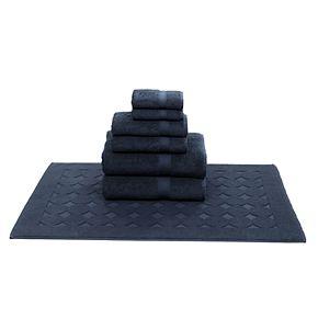 Linum Home Textiles 7-piece Turkish Cotton Sinemis Terry Bath Towel Set
