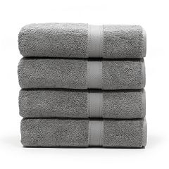 Linum Home Textiles 4-pack Turkish Cotton Sinemis Terry Bath Towel Set