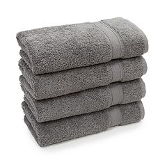 Linum Home Textiles 4-pack Turkish Cotton Sinemis Terry Hand Towel Set