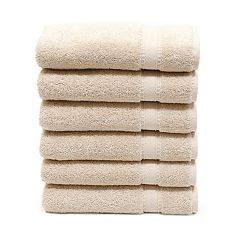 Linum Home Textiles 6-piece Turkish Cotton Sinemis Terry Hand Towel Set