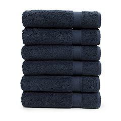 Linum Home Textiles 6-piece Turkish Cotton Sinemis Terry Hand Towel Set