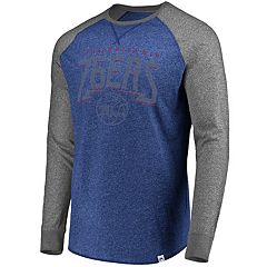 Men's Majestic Philadelphia 76ers Static Raglan Tee