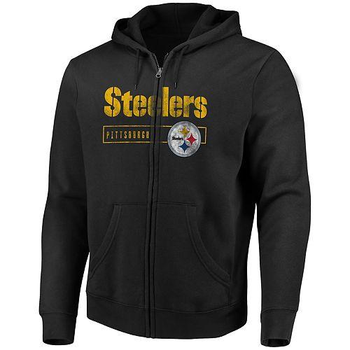 96ec60a0b Big   Tall Pittsburgh Steelers Fleece Hoodie