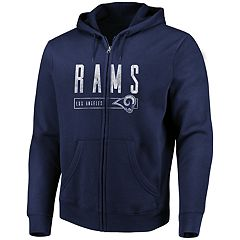 Big & Tall Los Angeles Rams Full-Zip Hoodie