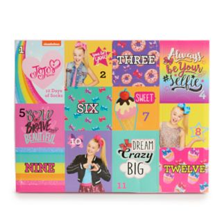 Girls 4-6x Jojo Siwa 12-pack Days of Socks