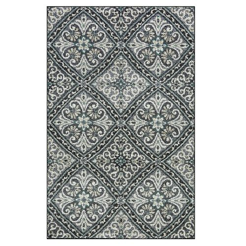 Maples Westerly Geometric Floral Rug