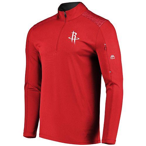 Men's Majestic Houston Rockets Tech Jacket