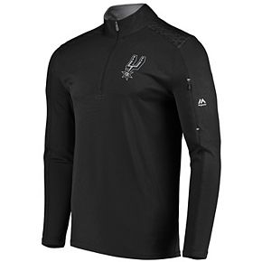 Men's Majestic San Antonio Spurs Tech Jacket