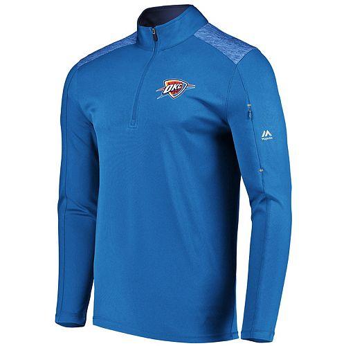 Men's Majestic Oklahoma City Thunder Tech Jacket