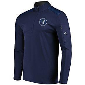 Men's Majestic Minnesota Timberwolves Tech Jacket