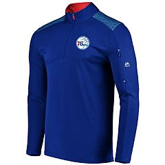 Men's Majestic Philadelphia 76ers Tech Jacket