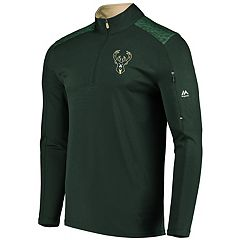 Men s Majestic Milwaukee Bucks Tech Jacket b64791aa1