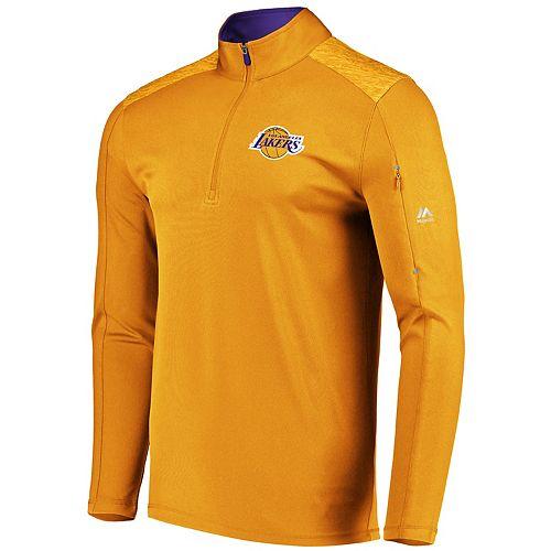 Men's Majestic Los Angeles Lakers Tech Jacket