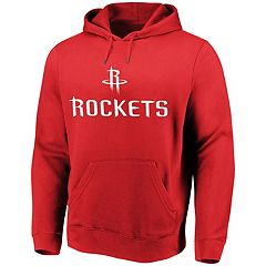Men's Majestic Houston Rockets Pull-Over Hoodie