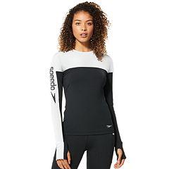 Women's Speedo Aqua Elite Swim Rash Guard