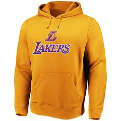 Men's Majestic Los Angeles Lakers Pull-Over Hoodie
