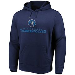 Men's Majestic Minnesota Timberwolves Pull-Over Hoodie