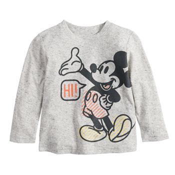 Disney's Mickey Mouse Baby Boy Hi & Bye Front & Back Graphic Tee by Jumping Beans®