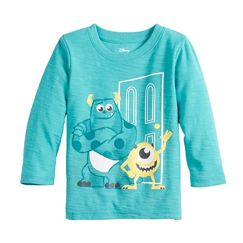 Disney / Pixar Monsters Inc. Baby Boy Sully & Mike Graphic Tee by Jumping Beans®