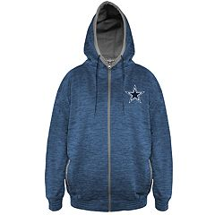 Men s Dallas Cowboys Full-Zip Fleece Hoodie 0ed8e37e3