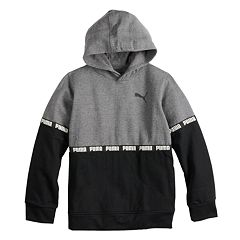 e5d2bed4a0b7 Boys 8-20 PUMA Taped Colorblock Pull-Over Hoodie