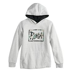 Boys 8-20 PUMA Logo Pull-Over Hoodie