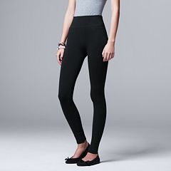d87c97674af26 Womens Simply Vera Vera Wang Leggings Bottoms, Clothing | Kohl's