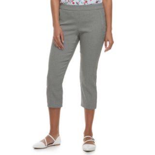 Women's ELLE? Pull-On Back Seam Capri Pants