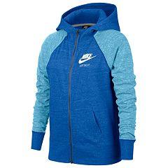 Girls 7-16 Nike Vintage Zip-Up Hoodie