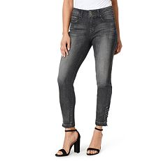 Women's Angels Curvy Fit Midrise Skinny Ankle Jeans