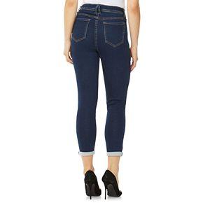 Women's Angels Signature Cuffed Skinny Jeans