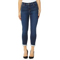 Women's Angels Signature Cuffed Skinny Jeans