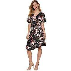 Women's Apt. 9® Twist Front Midi Dress