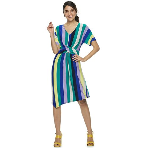 Kohl's Sale Twist Front Midi Dress