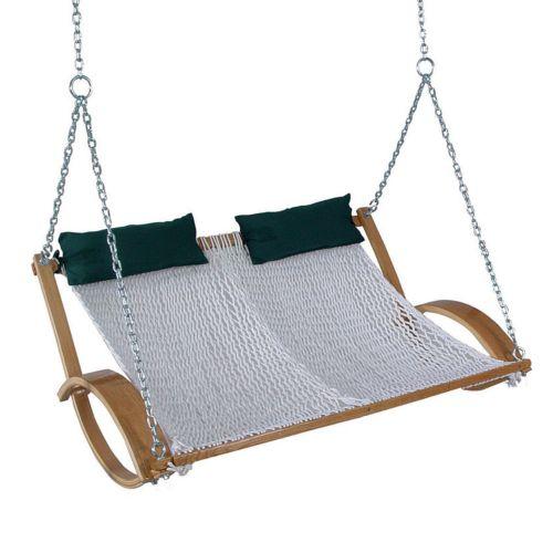 Pawleys Island Hammocks Rope Double Swing - Outdoor