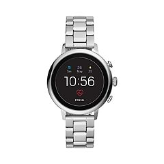 Fossil Women's Q Venture Gen 4 Stainless Steel Smart Watch - FTW6017